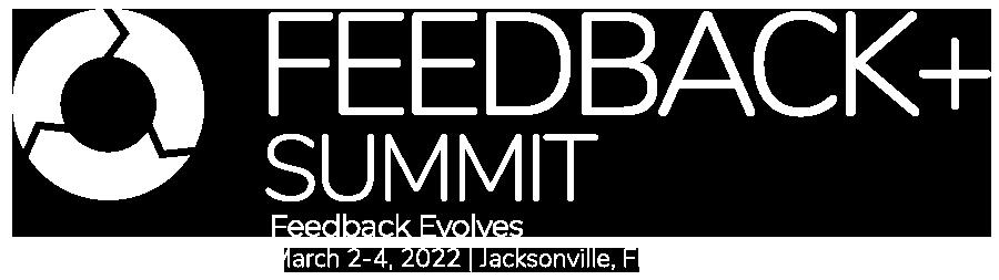 Feedback + summit logo